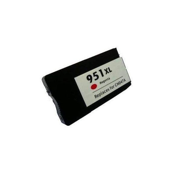 HP CN047AE, 951 XL (magenta, bíbor) prémium kategóriájú utángyártott chipes tintapatron, patron