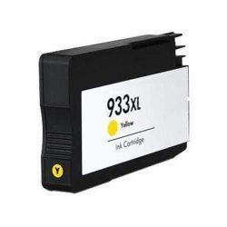 HP CN056AE, 933 XL (yellow, sárga) prémium kategóriájú utángyártott chipes tintapatron, patron