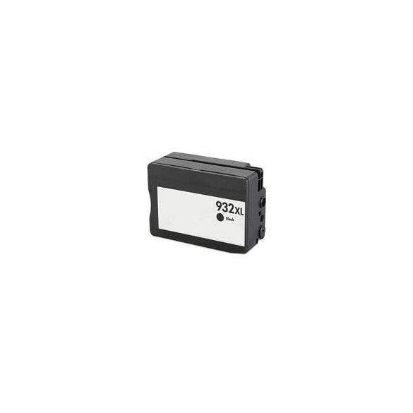 HP CN053AE, 932 XL (bk. fekete) prémium kategóriájú utángyártott chipes tintapatron, patron