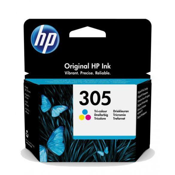 HP 305 színes eredeti patron 3YM60AE