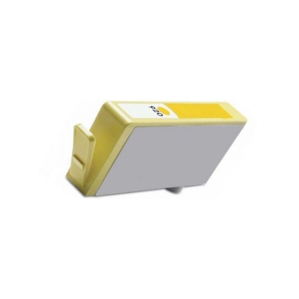 HP CD974AE, 920 XL (yellow, sárga) prémium kategóriájú utángyártott chipes tintapatron, patron