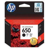 HP CZ101, 650  Bk. (fekete) tintapatron