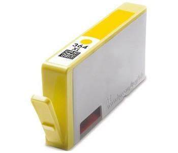HP CB325, 364XL Y. (sárga) prémium kategóriájú utángyártott chipes tintapatron, patron