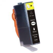 HP CB321, 364XL Bk. (fekete) prémium kategóriájú utángyártott chipes tintapatron, patron