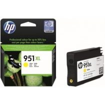 HP CN048AE, 951 XL (Y, sárga) tintapatron