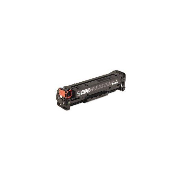 HP CC530A (black - fekete) utángyártott prémium toner ( HP color laserjet CP2025, CM2320) 3500 oldal